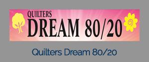 QLTRS DRM 96X93 80/20 BATTING NATURAL