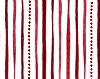 Shine Bright WHT/Red Stripe and Dot Quilting Treasures 1649--24291--R