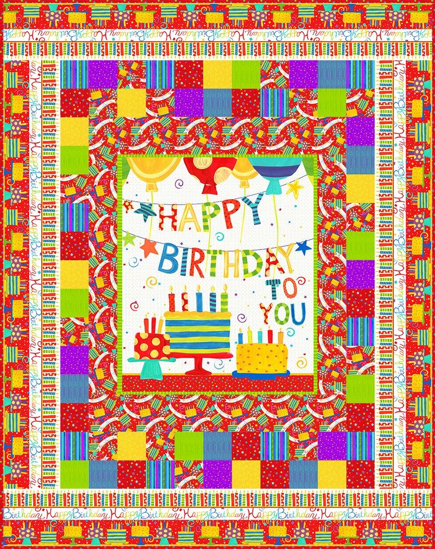 Happy Birthday Quilt