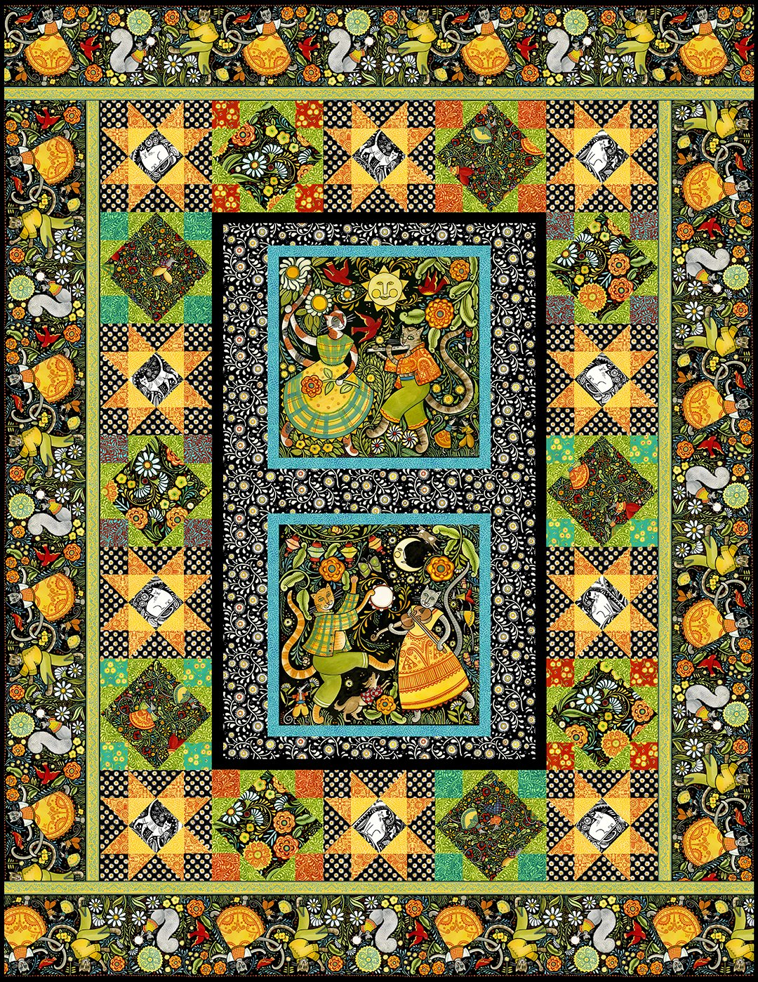 Hey Diddle Diddle Quilt Pattern