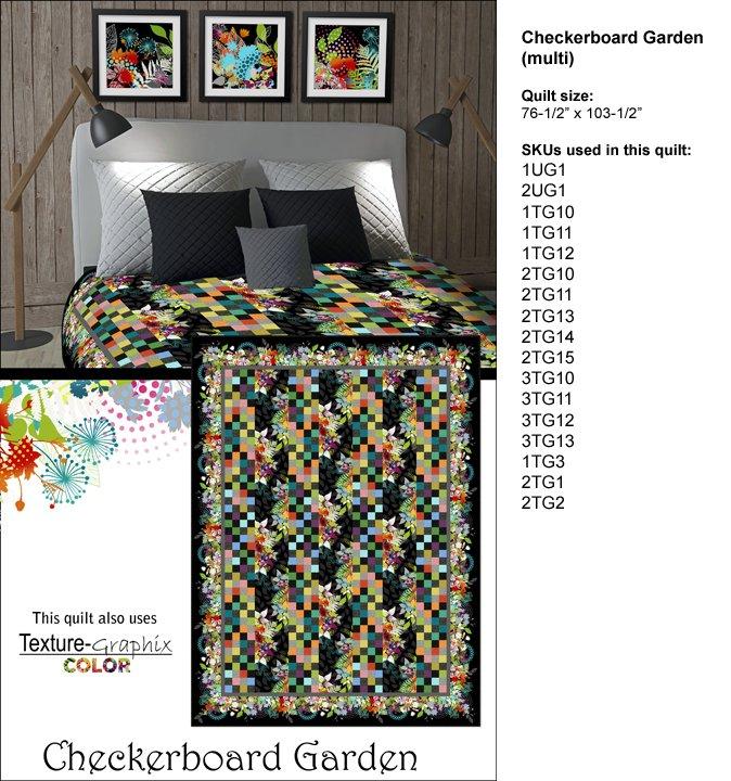 Garden Checkerboard Pattern