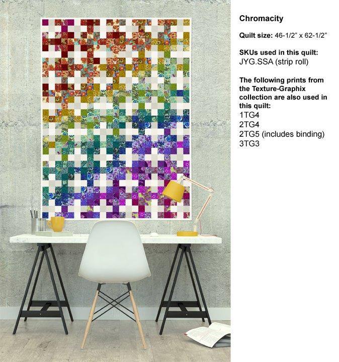 Splendiferous Quilts Book: Chromacity Quilt