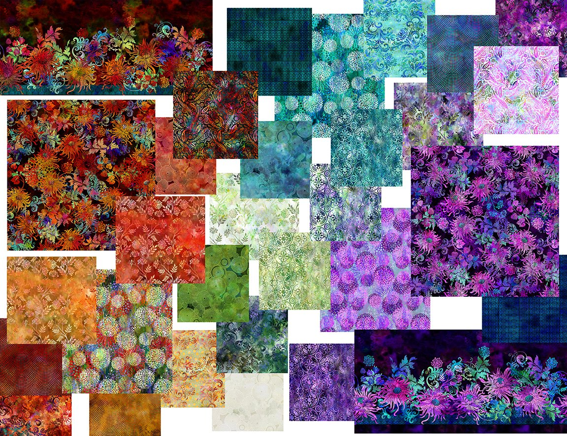Floragraphix V Complete 10 yd Collection