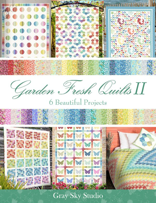 Garden Fresh Quilts II Book