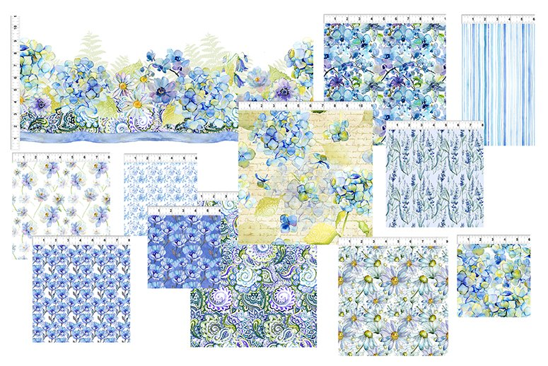The Leah Collection - Complete 15 yd. Collection