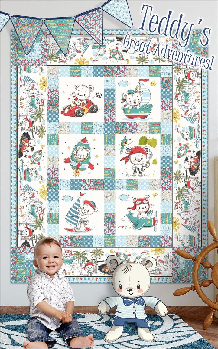 Teddy's Great Adventures Quilt