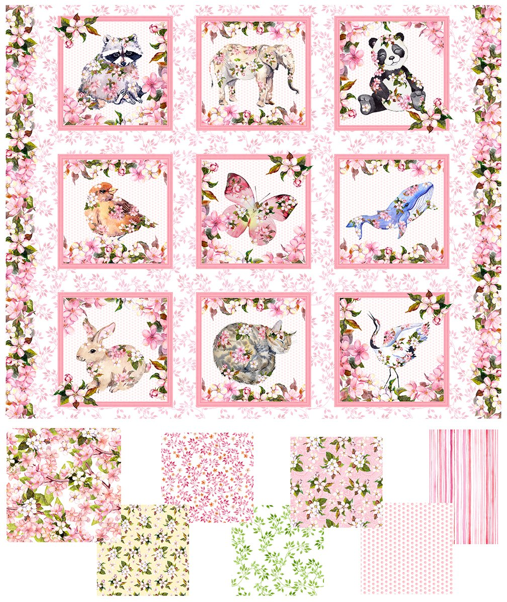 Pretty in Pink Complete 15 yd. Collection
