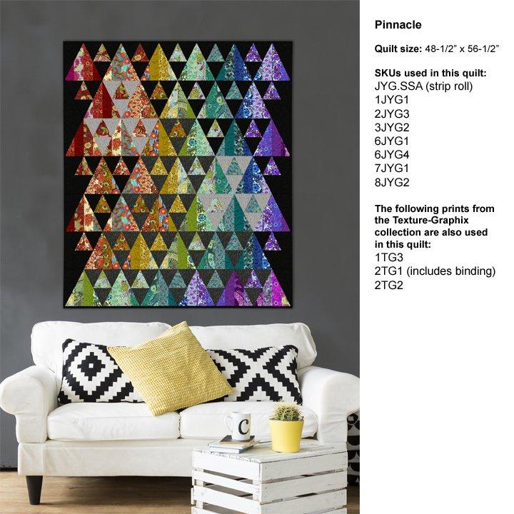 Splendiferous Quilts Book: Pinnacle Quilt
