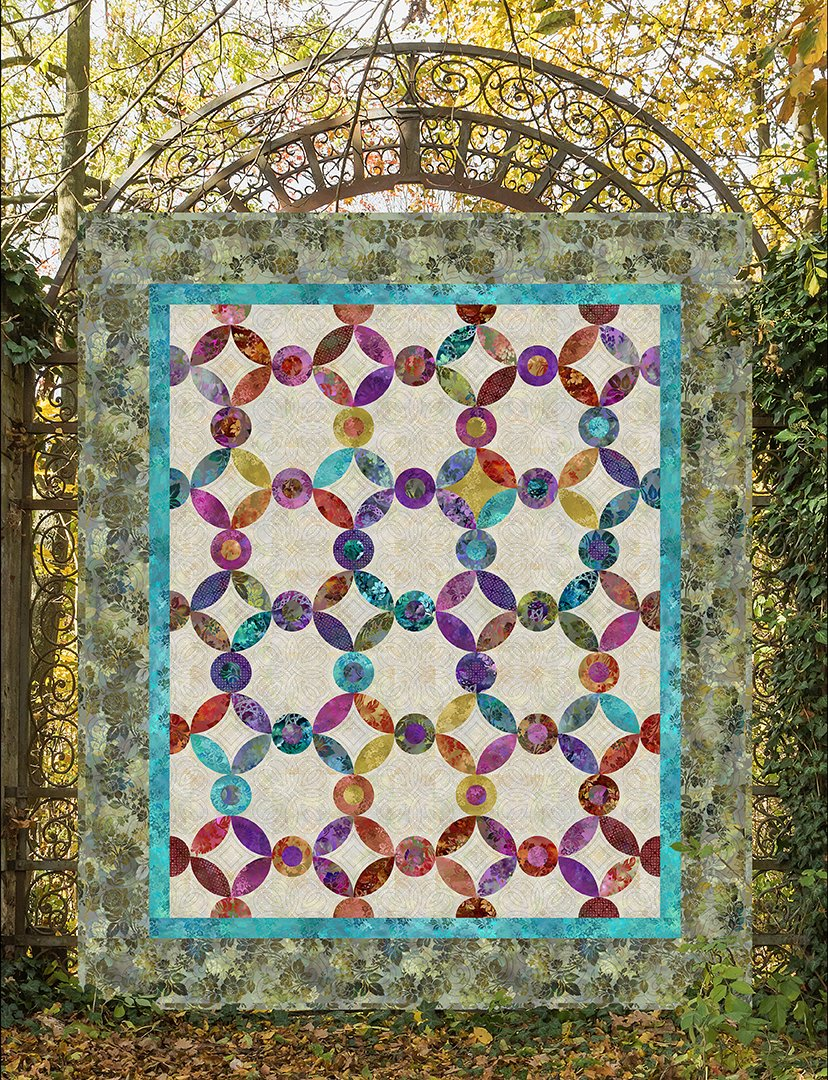 Jeweled Rings Quilt