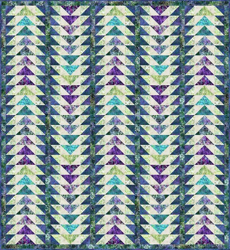 Floragraphix V Journey Quilt - Shop Kit