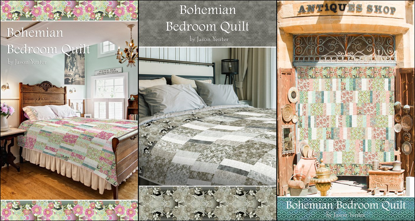 The Bohemian Bedroom Quilt Pattern