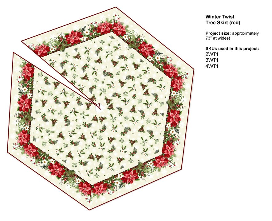 Winter Twist Book: Tree Skirt