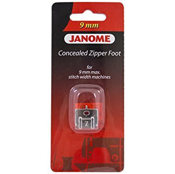 Janome Concealed Zipper Foot - 200333001