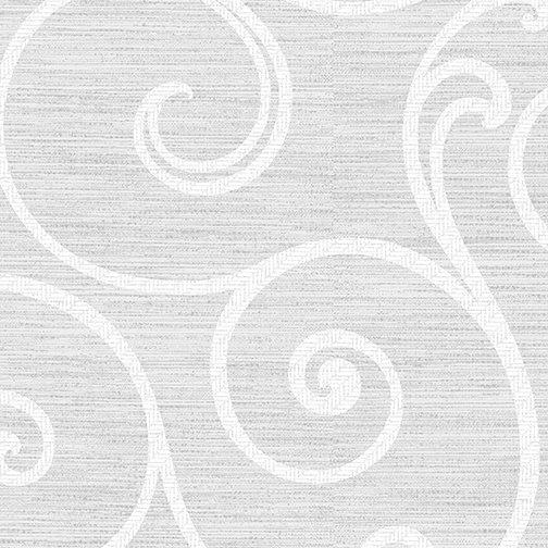 Ceramic Swirl Light Gray/White