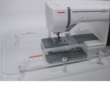 Janome Extra Wide Table and Cloth Guide Set - 858416006