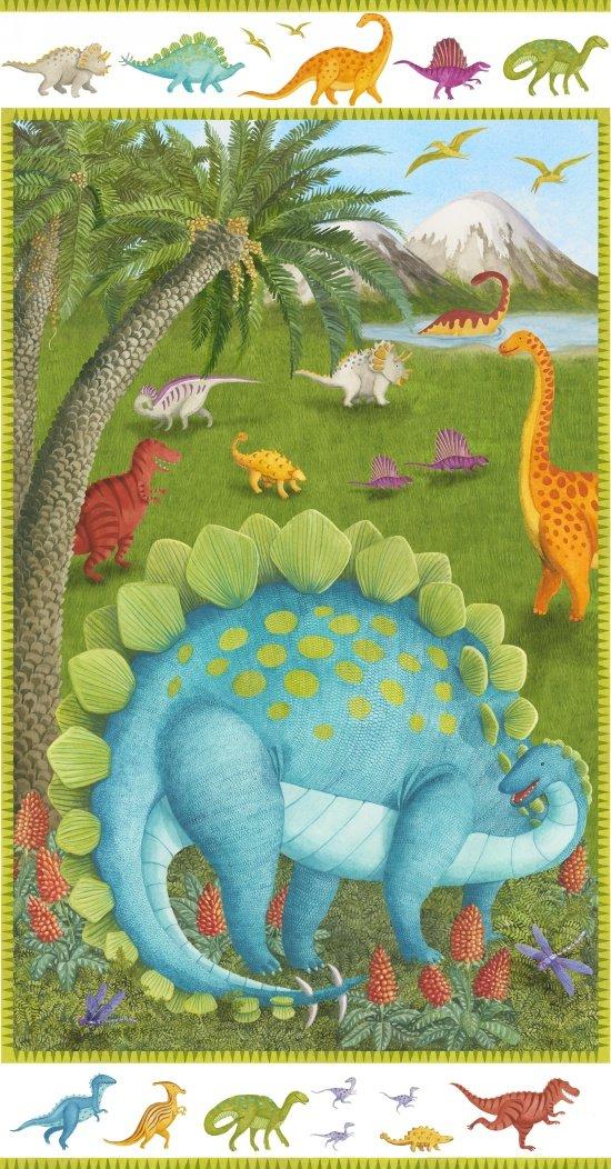 Dino Party Dinosaur Panel