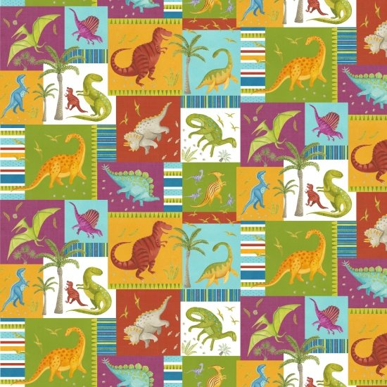 Dino Party Dinosaur Patch