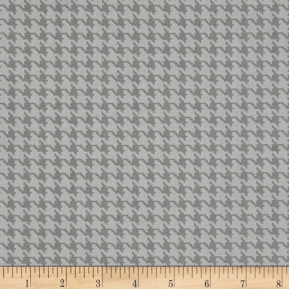 Dog Gone It Houndstooth Gray