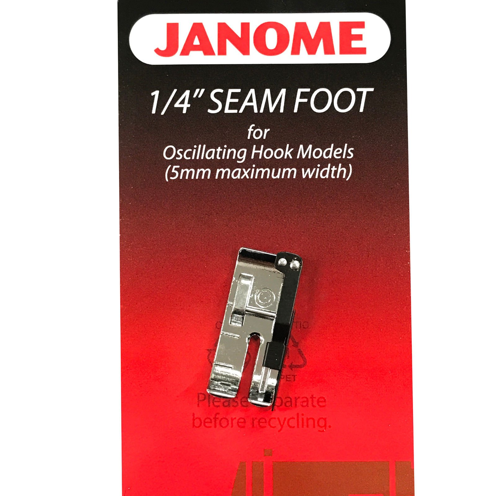Janome 1/4 Foot 5MM - 200330008
