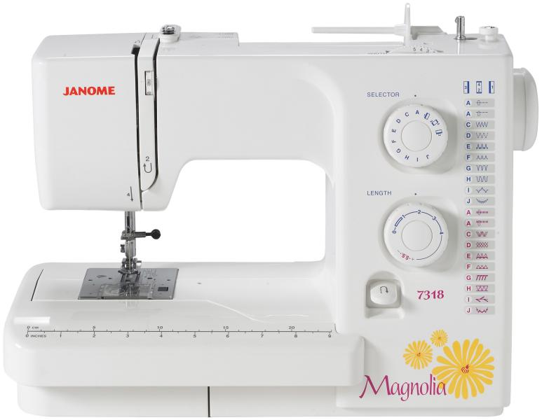 Janome 7318 Magnolia