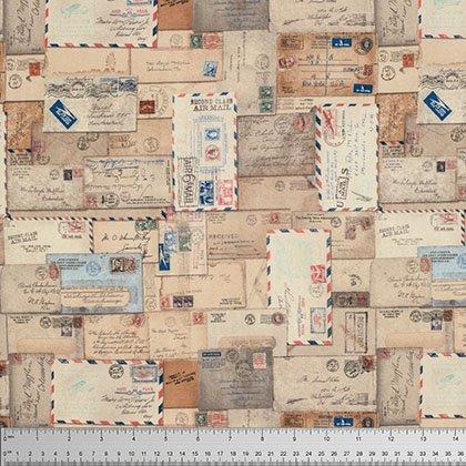Tim Holtz Correspondence Letter Neutral