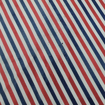 Tim Holtz Correspondence Postal Stripe Red