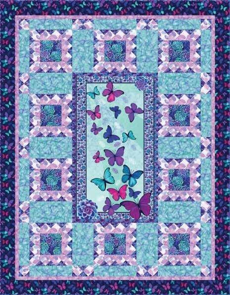 Viva Terra Panel Quilt Kit