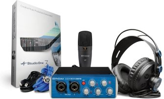 AudioBox USB 96 Studio 25th Anniversary Edition Complete Hardware / Software Recording Kit  Includes AudioBox USB 96 HD7 Headphones & M7 Mic