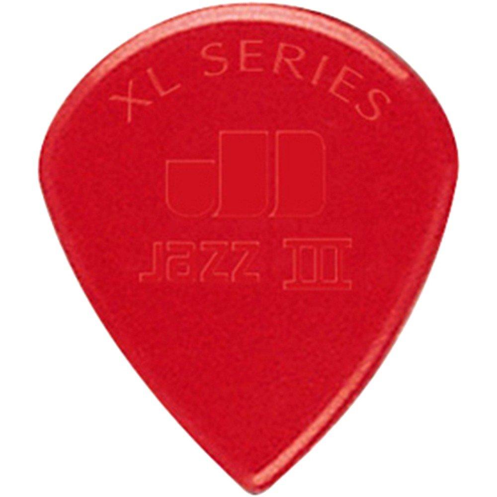Dunlop Nylon Jazz III Guitar Picks XL 6 PK