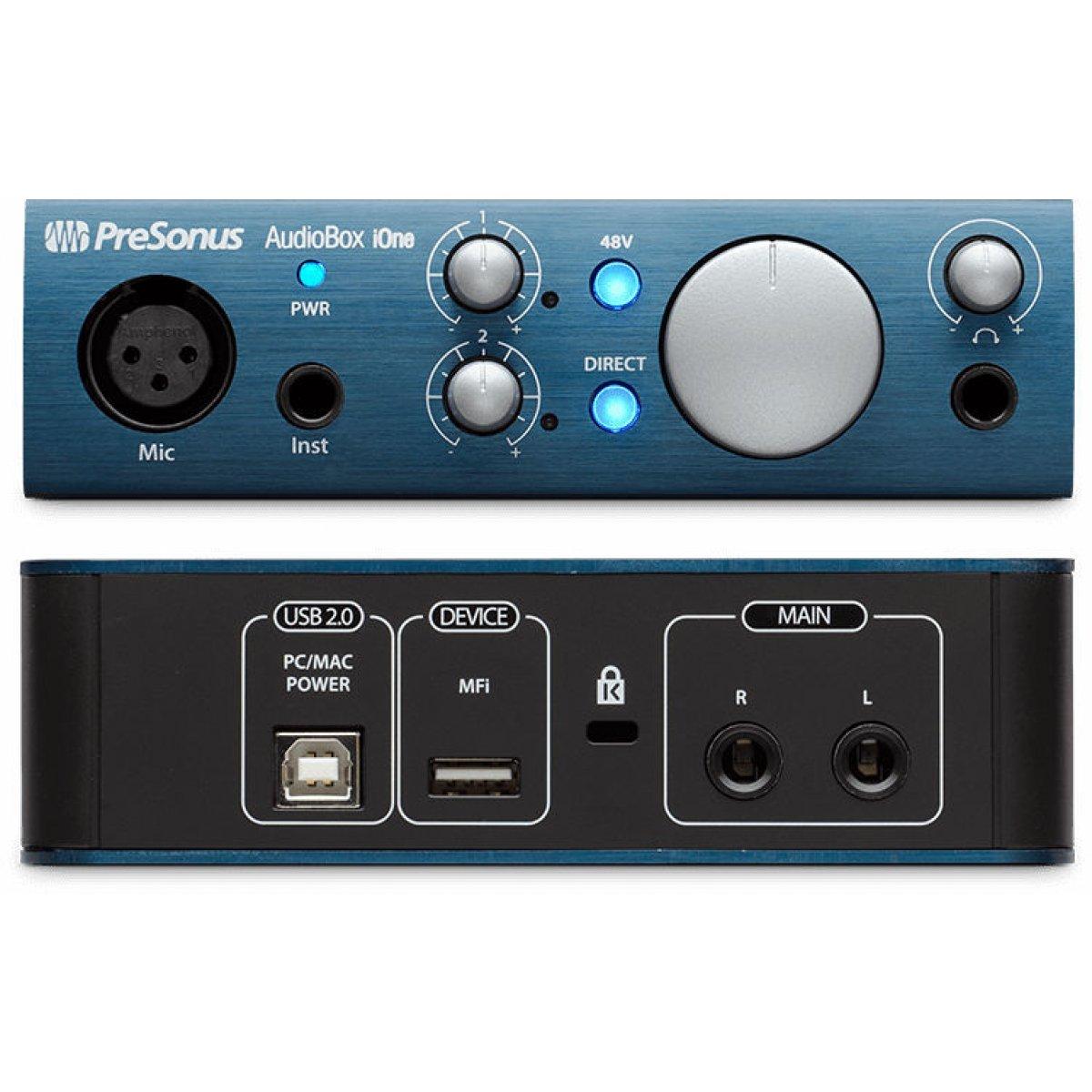 Presonus AUDIOBOX iONE PRESONUS AudioBox iOne