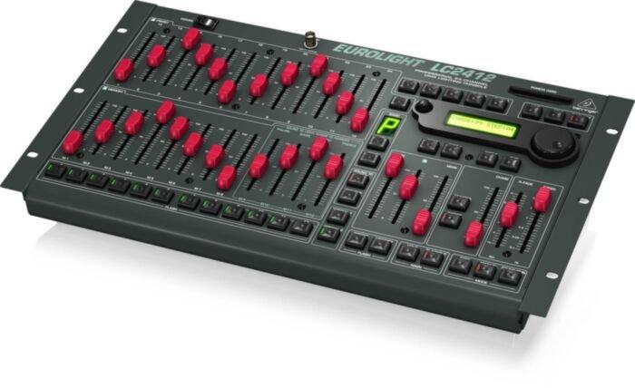 Behringer EUROLIGHT LC2412 Professional 24 - Channel DMX Lighting Console