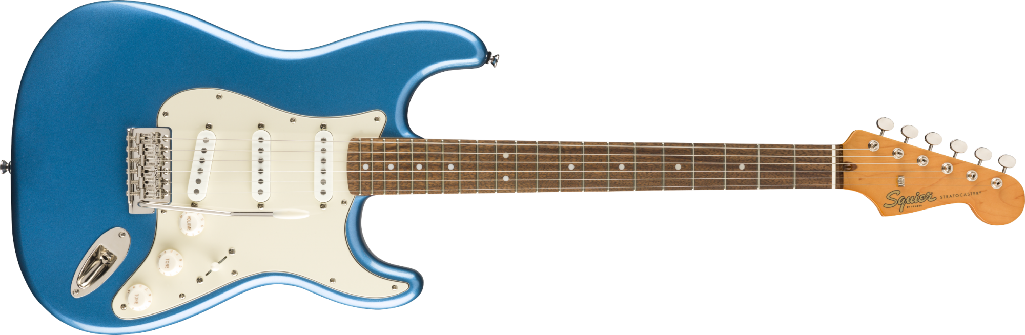 Squier Classic Vibe 60s Stratocaster Laurel Fingerboard Lake Placid Blue