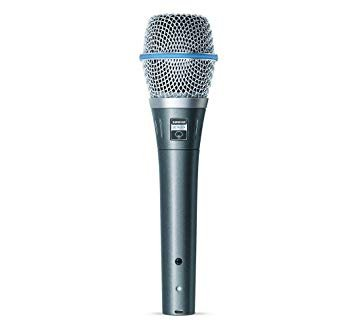 Shure Beta 87A Supercardioid Handheld Condenser Microphone