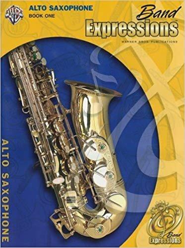 Band Expressions: Alto Saxophone Book 1