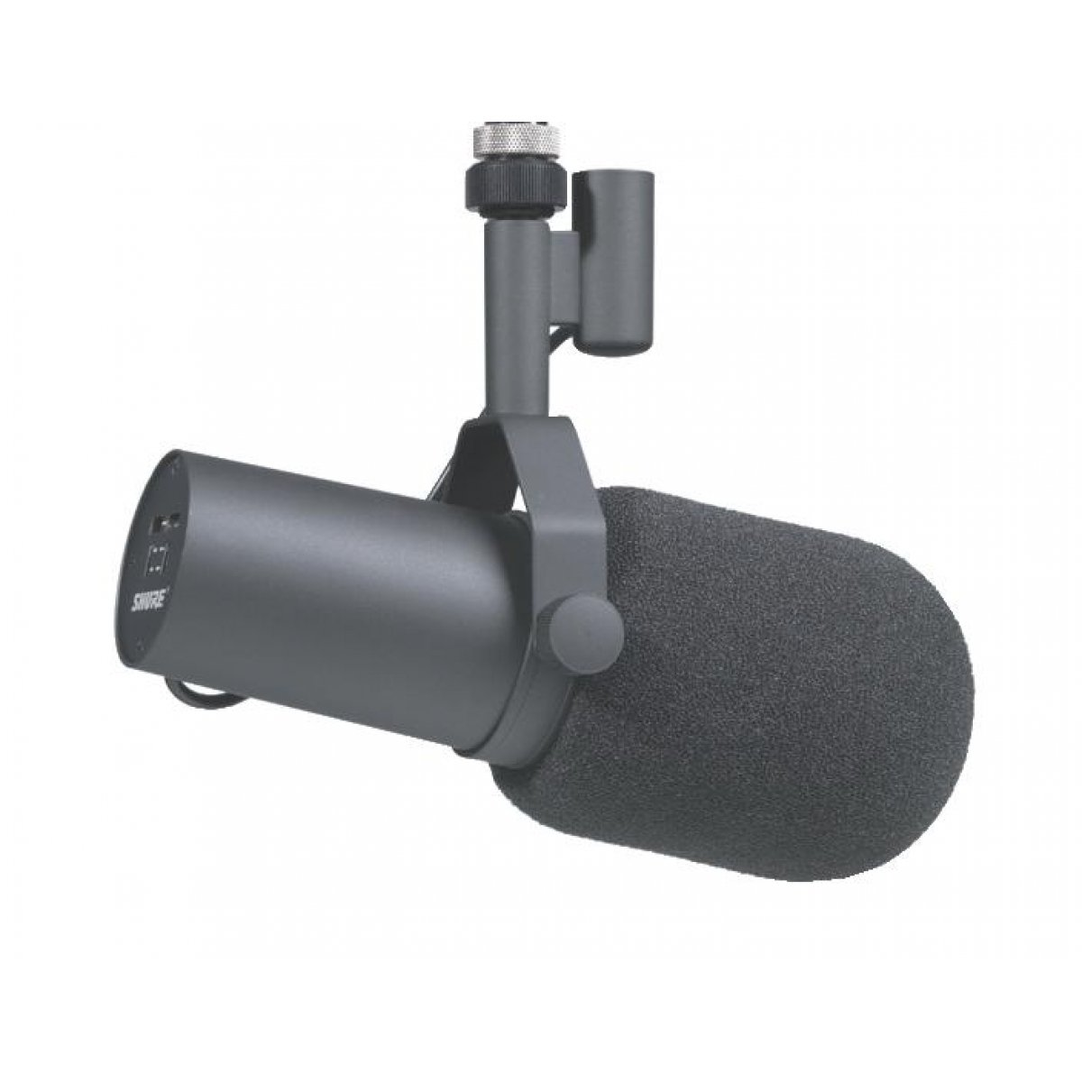 Shure SM7B Cardioid Dynamic Studio Vocal Microphone Includes Standard And Close-...