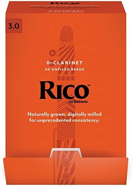 Rico Bb Clarinet Reed 3.0 RCA0130
