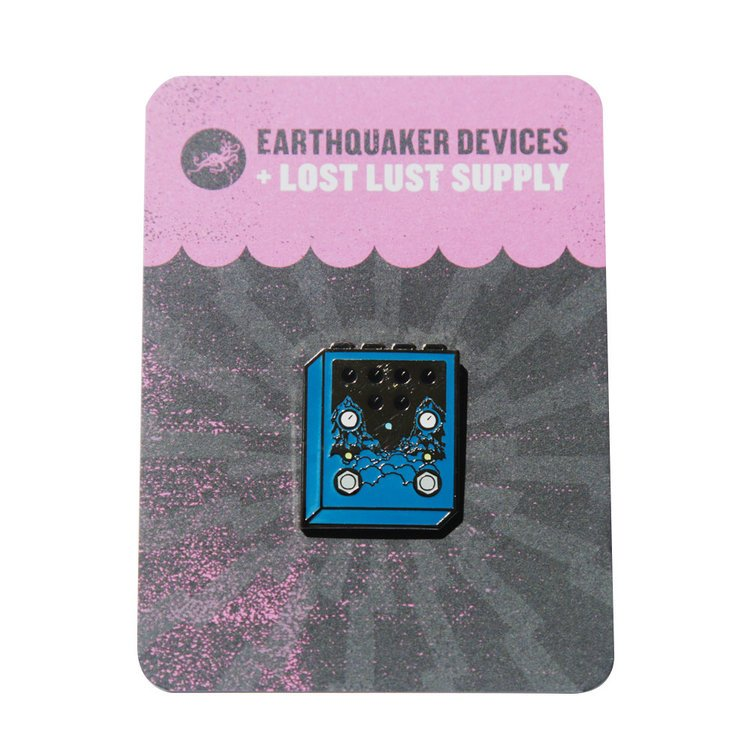 EarthQuaker Devices + Lost Lust Supply Avalanche Run Enamel Pin