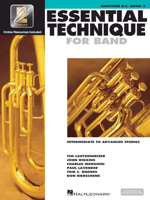 Essential Technique for Band with EEi - Intermediate to Advanced Studies Baritone B.C.