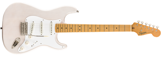 Squier Classic Vibe 50s Stratocaster Maple Fingerboard White Blonde w/Slipcase