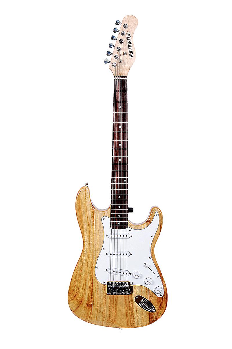 Huntington GE139-NT Strat Style Guitar w/Slipcase