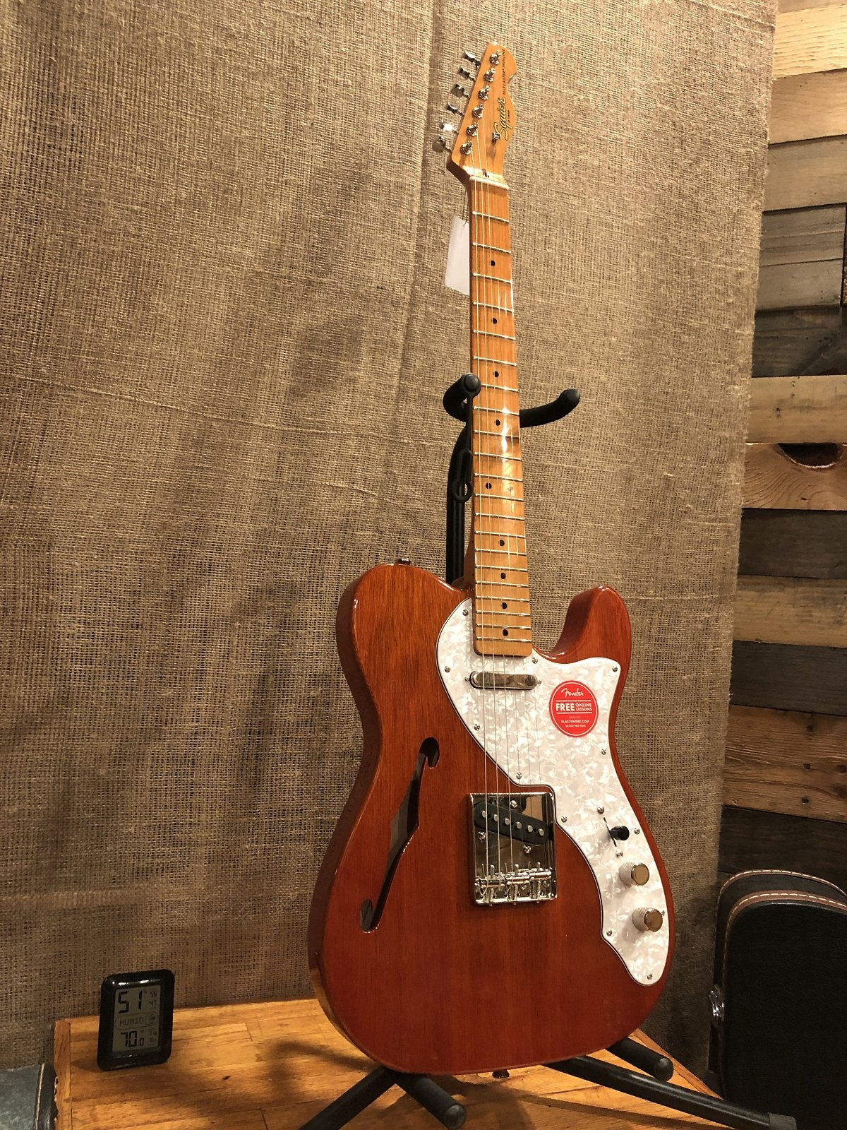 Squier Classic Vibe 60s Telecaster Thinline Maple Fingerboard Natural