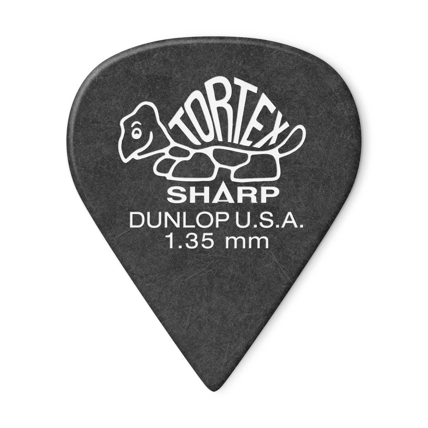 Tortex Sharp Guitar Pick 1.35mm 12pk