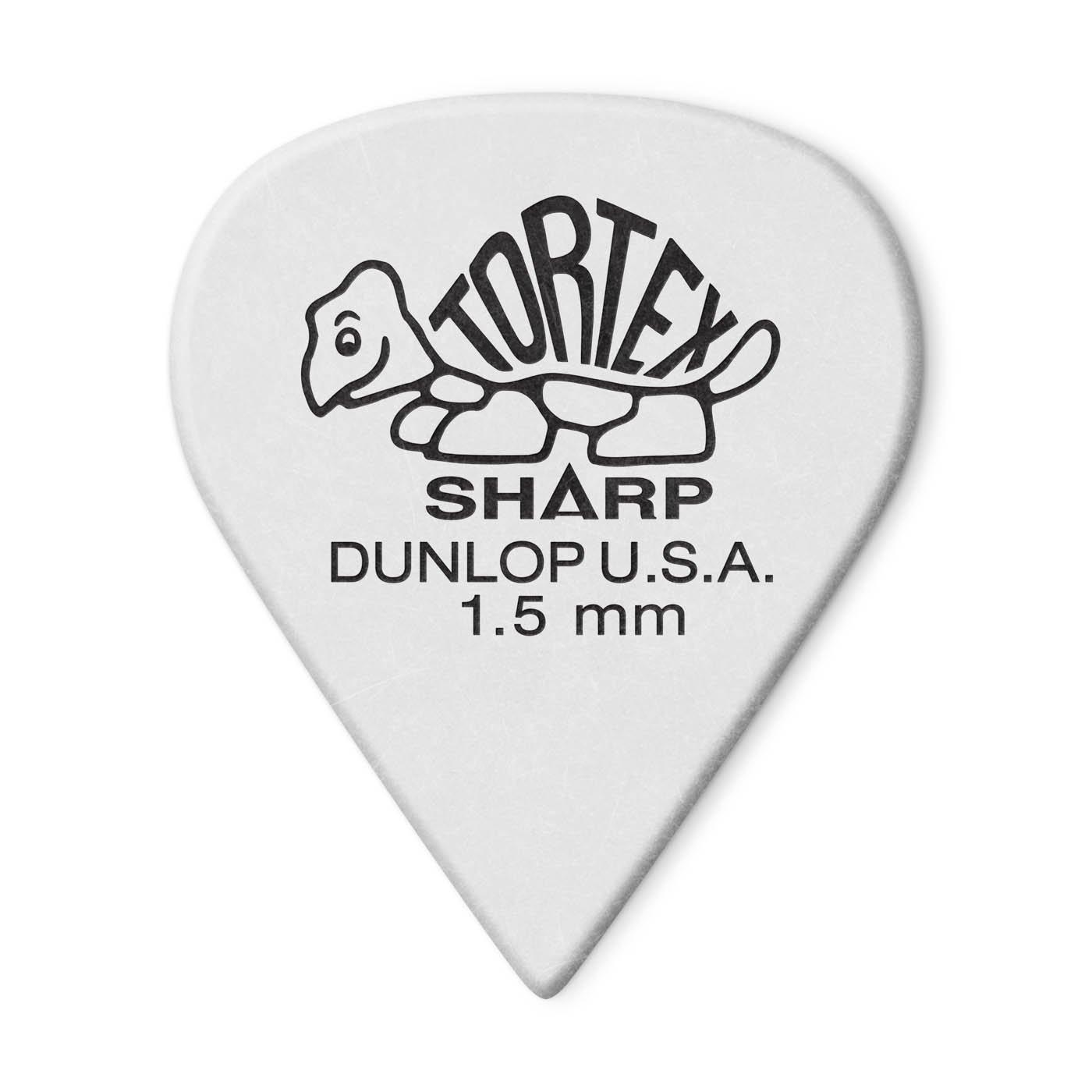 Tortex Sharp Guitar Picks 1.50mm 12pk