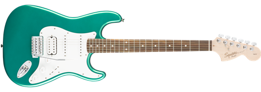 Squier Affinity Series Stratocaster HSS Race Green w/Slipcase