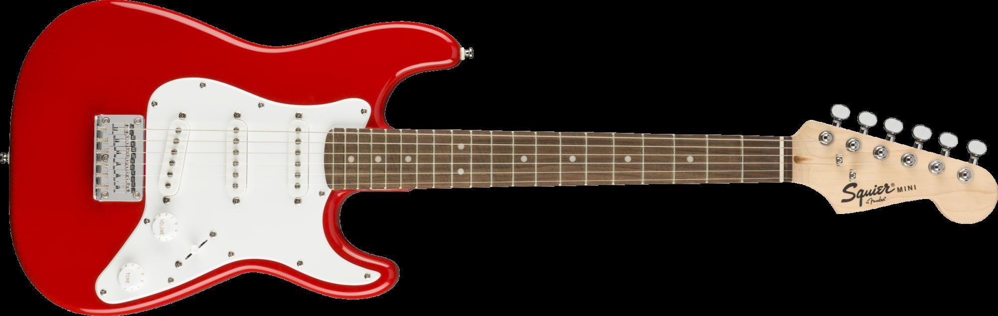 Squier Mini Stratocaster Laurel Fingerboard Torino Red