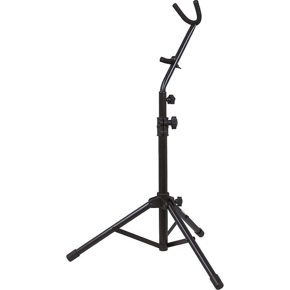 On-Stage Alto/Tenor Sax Stand With Flute Peg