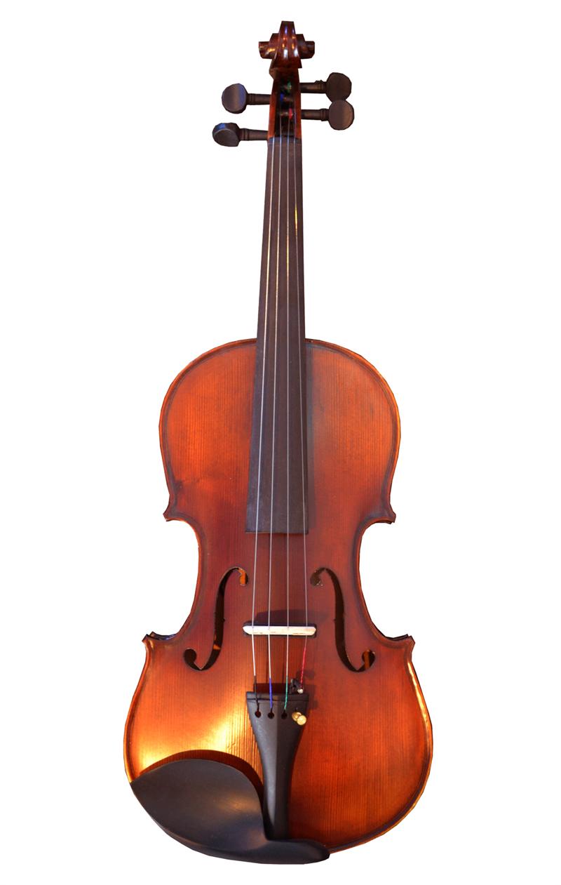 Bridgecraft VE4411R Acoustic/Electric Violin 4/4 w/Case & Accessories