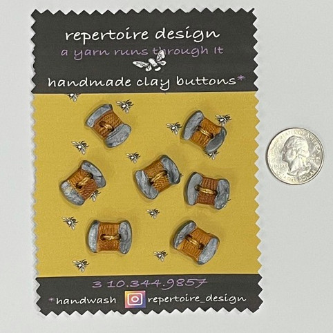 Handmade Clay Buttons