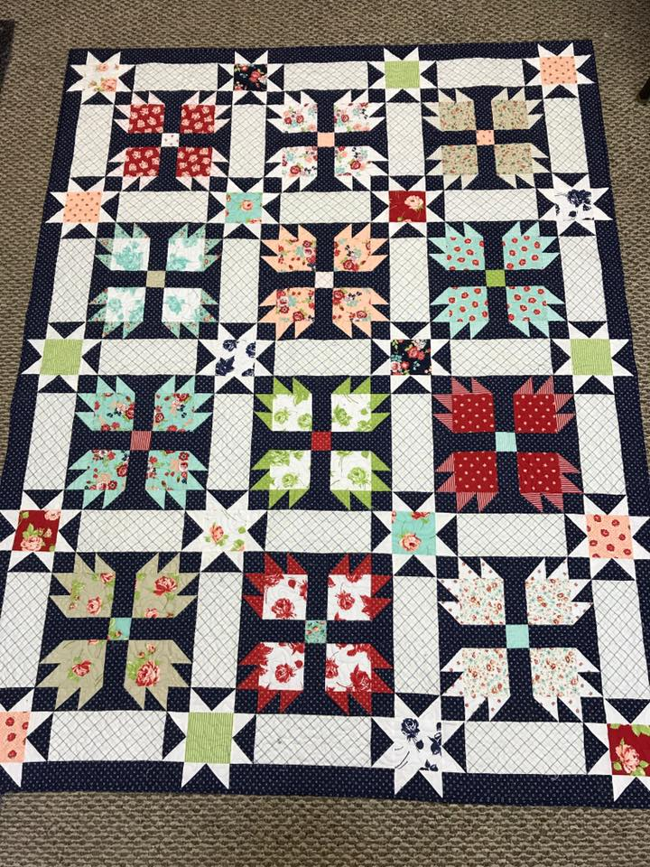 Over The Moon Quilt Kit