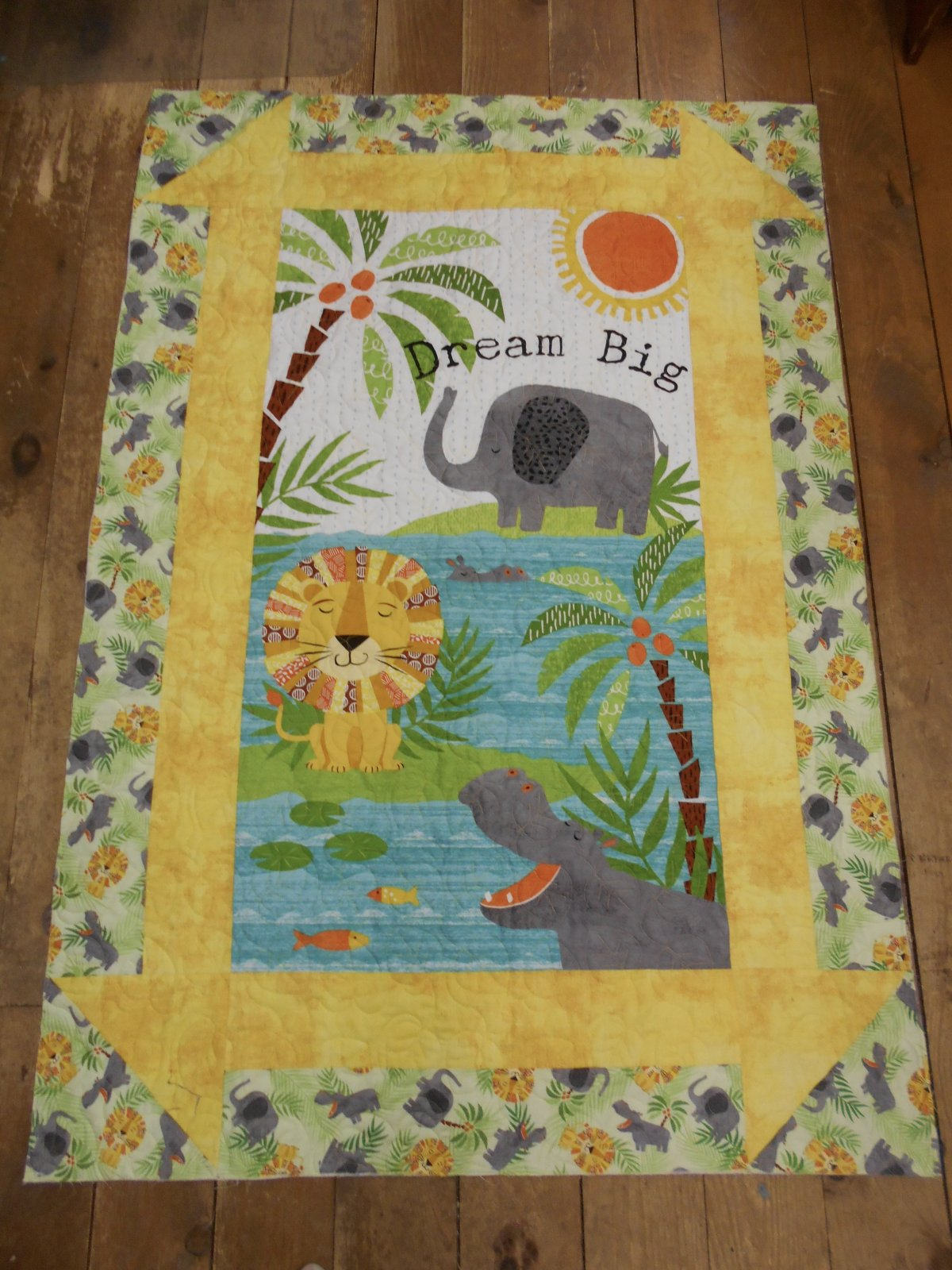 Dream Big Churn Dash Quilt Kit